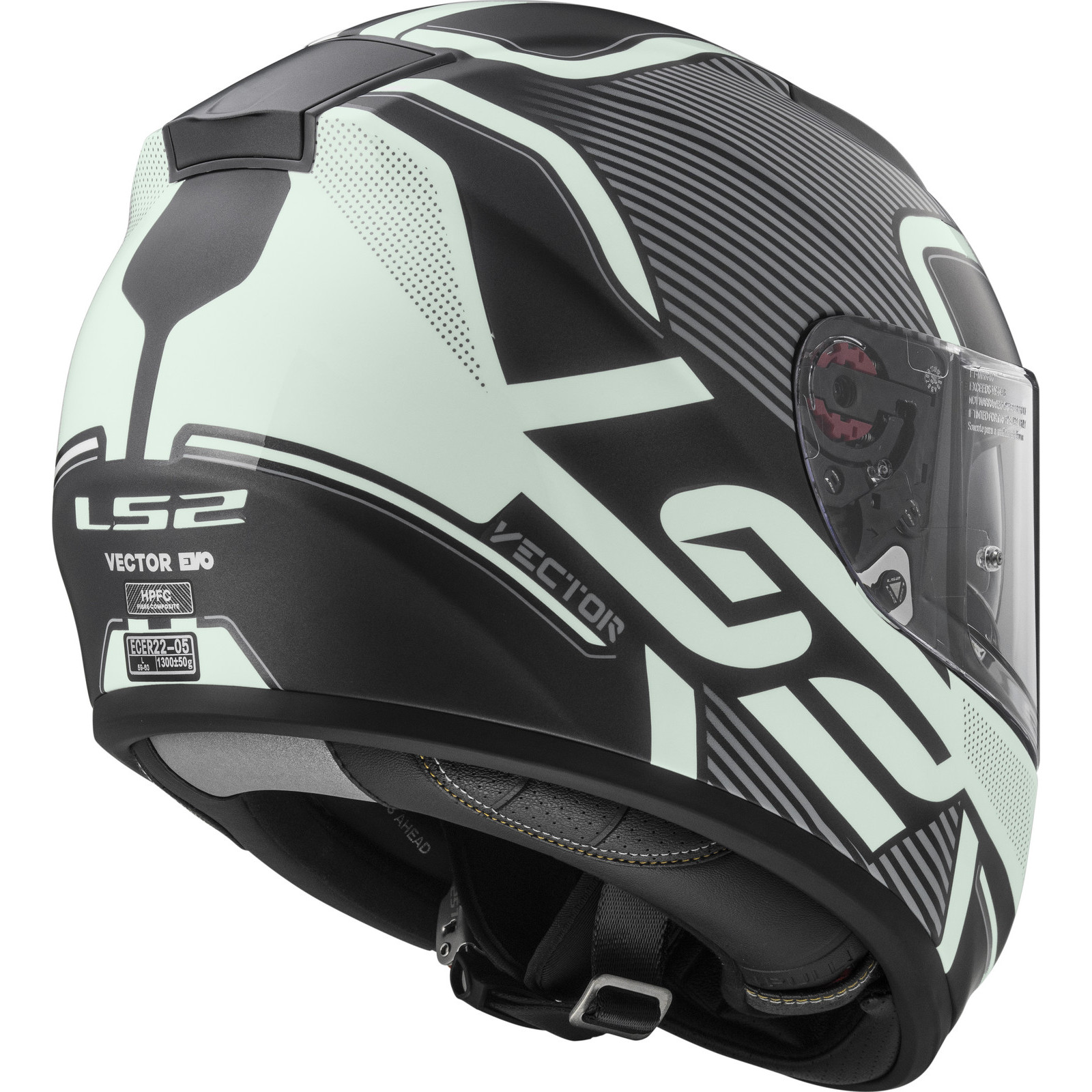Helmet LS2 397 VECTOR (ORION Matt Black Light)