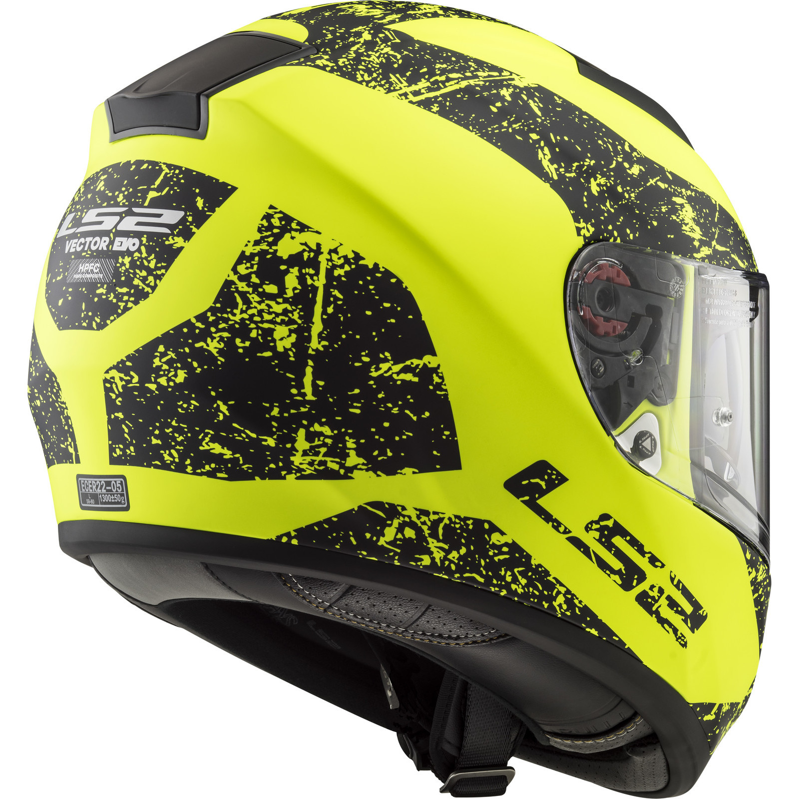 Helmet LS2 397 VECTOR (SIGN Matt Yellow Black)