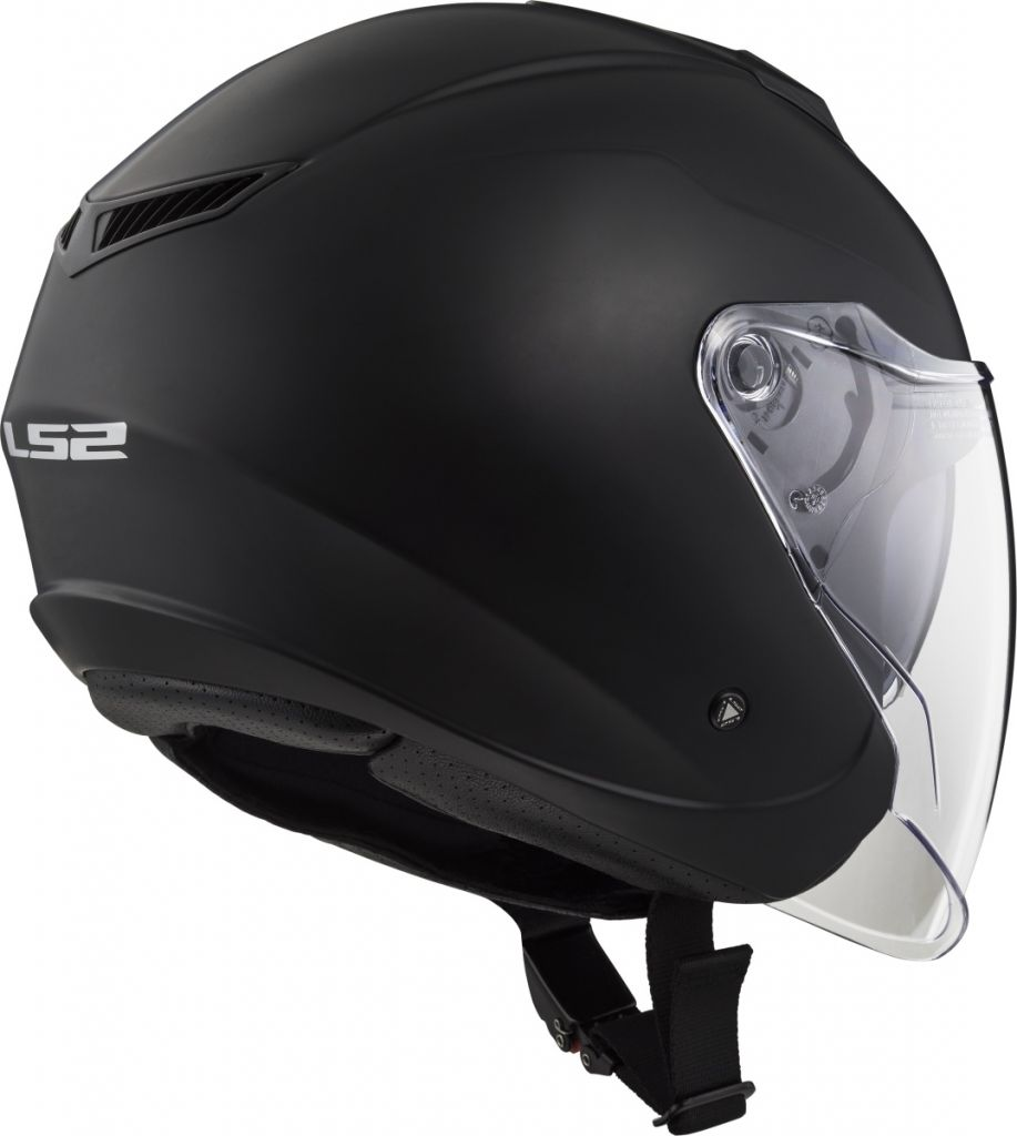 Helmet LS2 573 TWISTER (SOLID Matt Black)