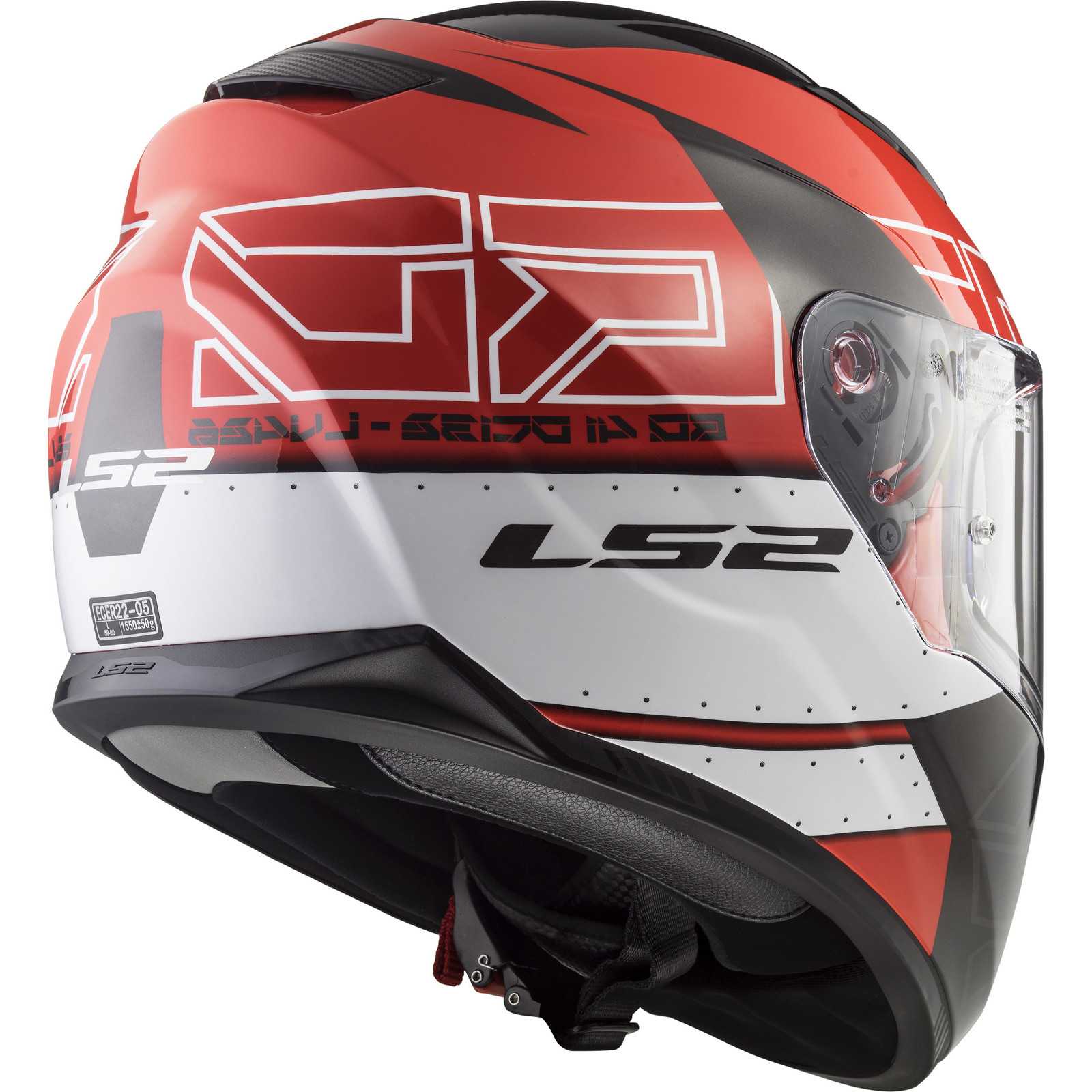 Helmet LS2 320 STREAM (KUB Red Black)