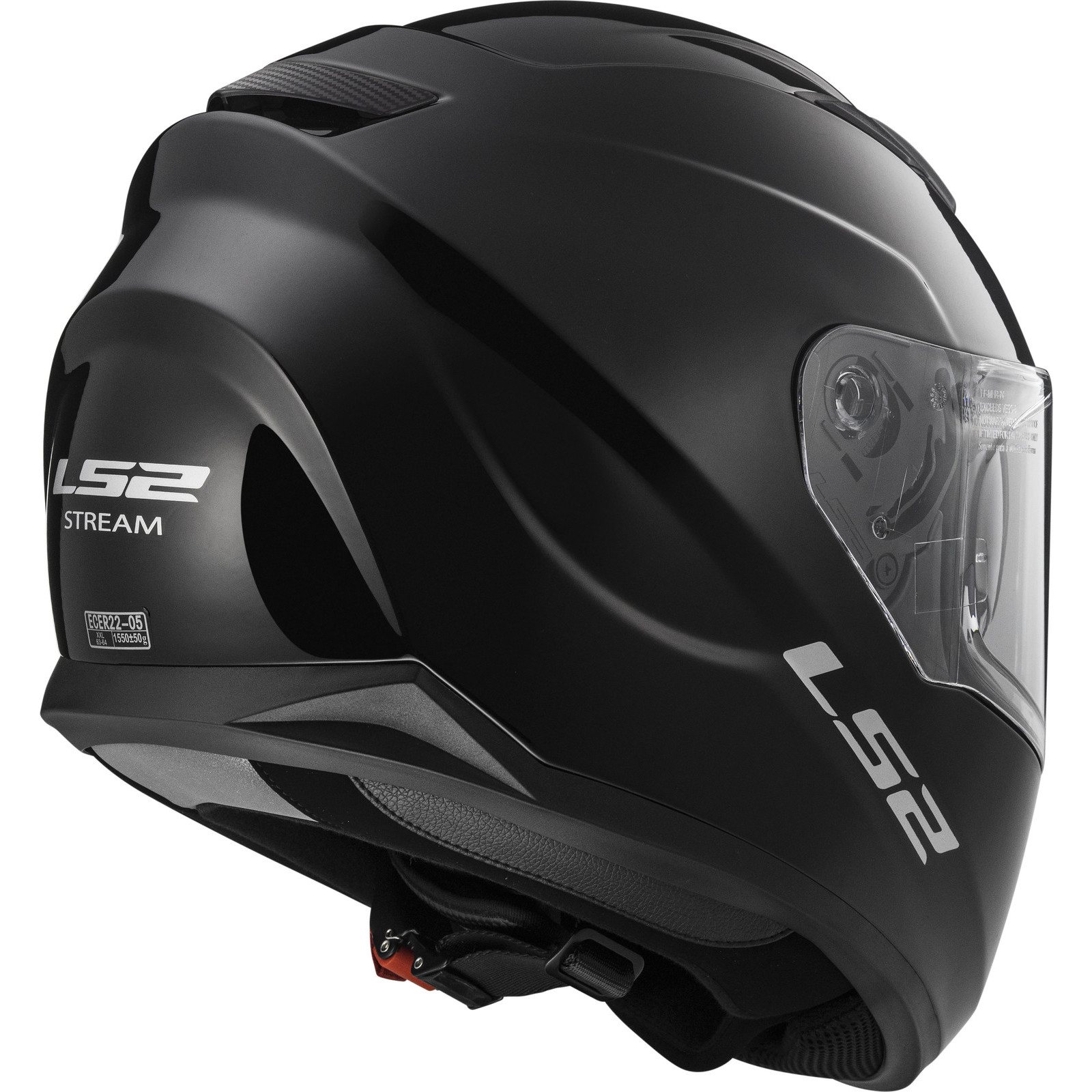 Helmet LS2 320 STREAM (SOLID Black)