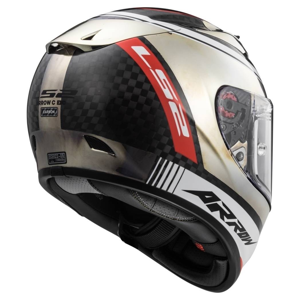 Helmet LS2 323 ARROW (INDY Carbon Chrome)