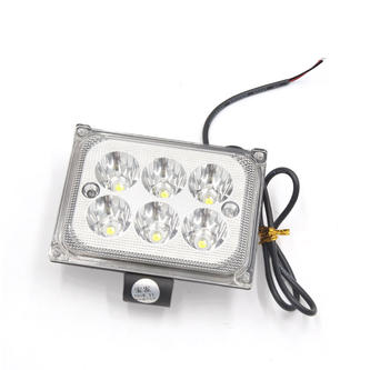 Fog Light Rectangular 6 LED