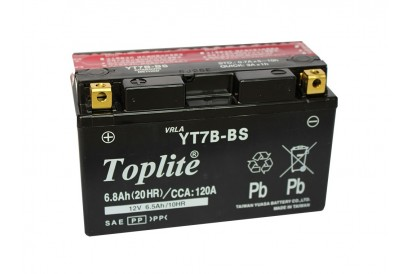 Battery YTX7BS Top Lite China