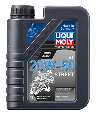 Engine Oil 20W50 4T (1 Liter) LiquiMoly
