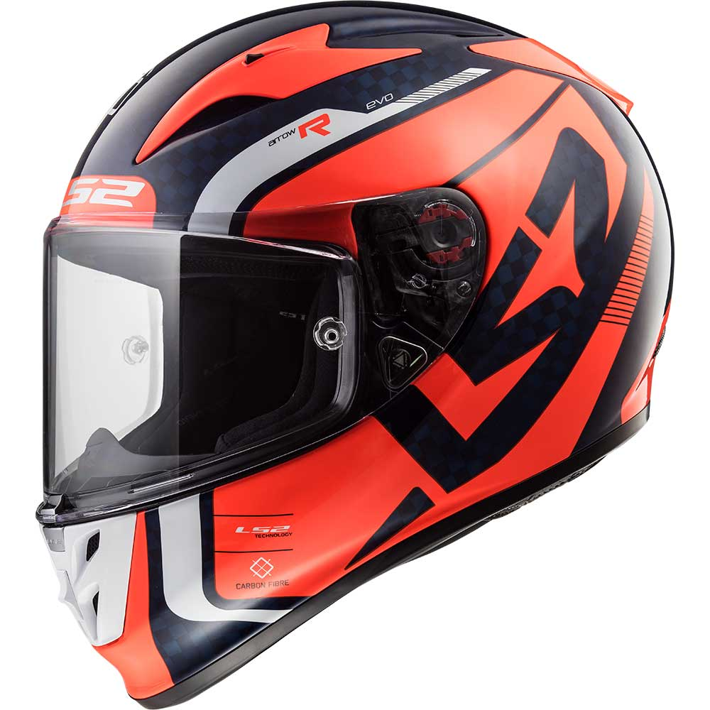 Helmet LS2 323 ARROW (STING Blue Fluo Orange)