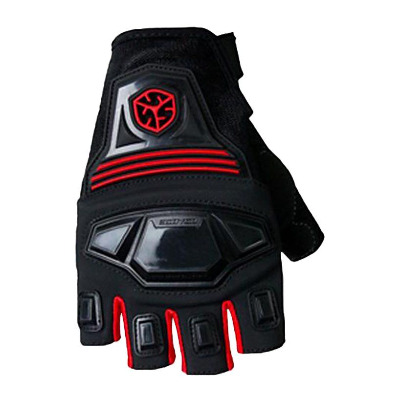 Gloves Half MC24D SCOYCO (Red)