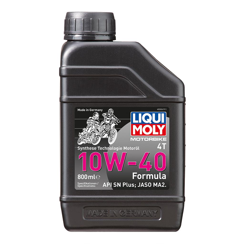 Engine Oil 10W40 4T (0.8 Liter) LiquiMoly