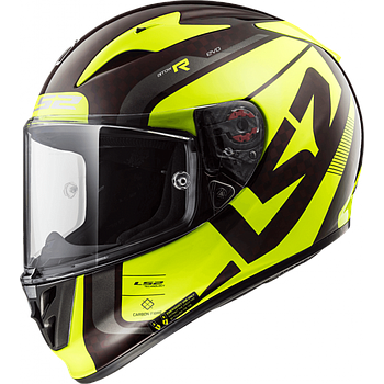 Helmet LS2 323 ARROW (STING Wineberry H-V Yellow)