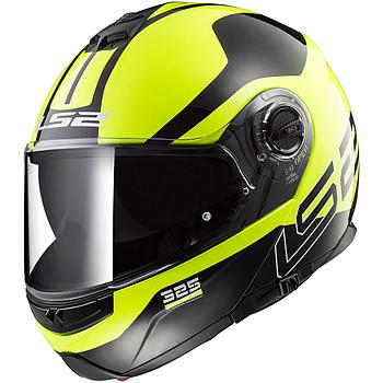 Helmet LS2 325 STROBE (ZONE Black H-V Yellow)