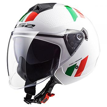 Helmet LS2 573 TWISTER (COMBO White Green Red)