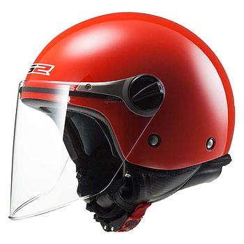 Helmet LS2 575 JUNIOR KID (SOLID Red)