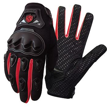 Gloves Full MC29 SCOYCO (Red)