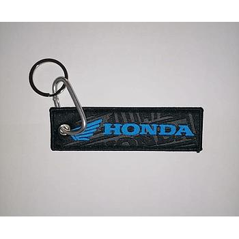 Medal Nylon Fabric With Hook Honda